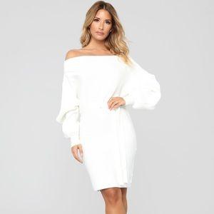 Fashion Nova Curve Ryleigh off shoulder dress